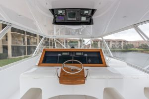 """The luxurious 87' Weaver """"Mantra"""" is one of MacGregor Yachts prized yachts. MacGregor Yachts is your premiere luxury yacht broker located in Palm Beach County."""