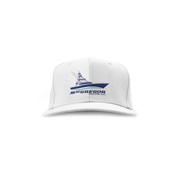 White FLEXFIT Mesh Hat