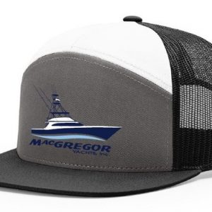 3 Panel Mesh Back Trucker Hat